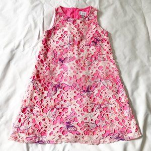 Children's Place pink dress - large